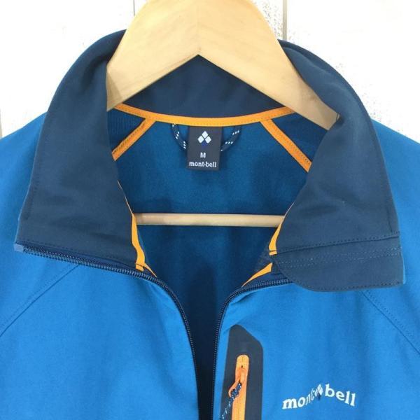 モンベル MONTBELL クラッグ ジャケット  Asian MEN's M SABL サファイアブルー ブルー系|2ndgear-outdoor|02