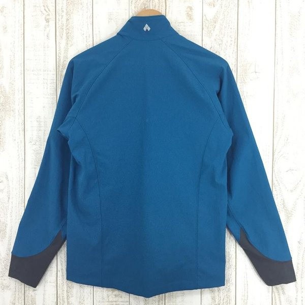 モンベル MONTBELL クラッグ ジャケット  Asian MEN's M SABL サファイアブルー ブルー系|2ndgear-outdoor|05