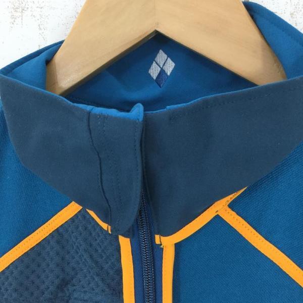 モンベル MONTBELL クラッグ ジャケット  Asian MEN's M SABL サファイアブルー ブルー系|2ndgear-outdoor|08