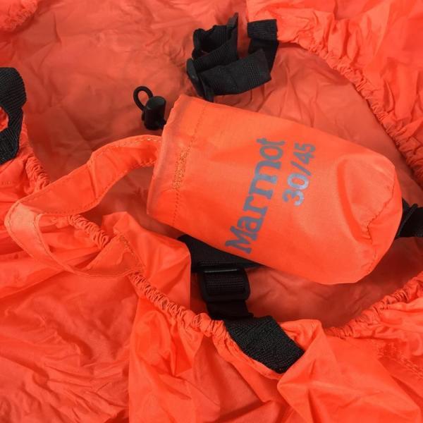 マーモット MARMOT レインカバー Rain Cover 30-45L  L OR オレンジ オレンジ系|2ndgear-outdoor|06
