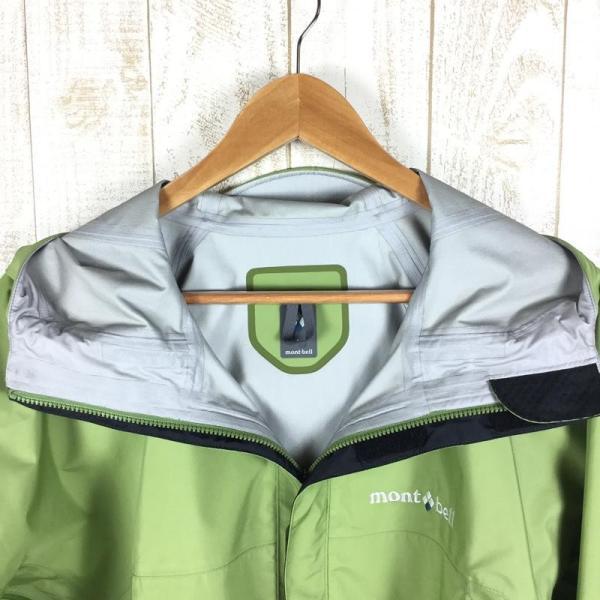 モンベル MONTBELL フィールド レインジャケット  Asian MEN's L OV オリーブ グリーン系|2ndgear-outdoor|03