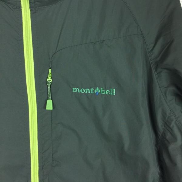 モンベル MONTBELL ライトシェルパーカ  Asian MEN's L グリーン系|2ndgear-outdoor|10