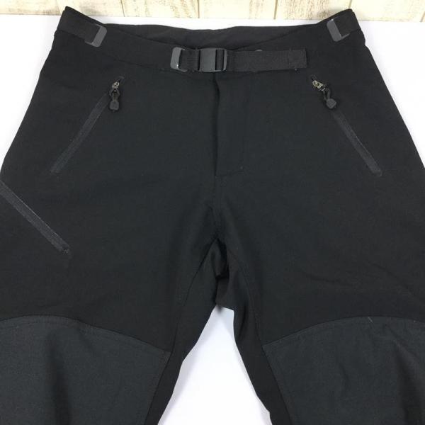 ホグロフス HAGLOFS フレクシャブル 4WAYストレッチ トレッキングパンツ  MEN's M ブラック系|2ndgear-outdoor|03