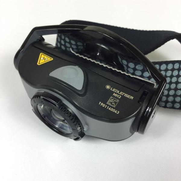 レッドレンザー LEDLENSER MH3 ヘッドランプ 200ルーメン  One グレー系|2ndgear-outdoor|04