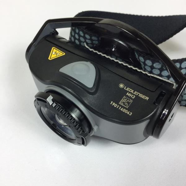レッドレンザー LEDLENSER MH3 ヘッドランプ 200ルーメン  One グレー系|2ndgear-outdoor|05