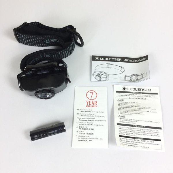 レッドレンザー LEDLENSER MH3 ヘッドランプ 200ルーメン  One グレー系|2ndgear-outdoor|09