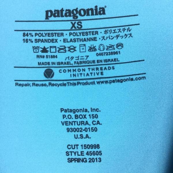 パタゴニア PATAGONIA Ws キャプリーン1 シルクウェイト ストレッチ Tシャツ Capilene 1 Silkweight Stretch|2ndgear-outdoor|10