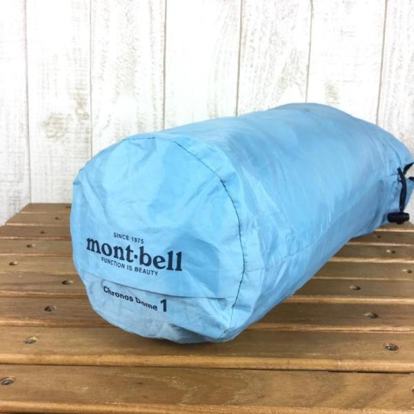 モンベル MONTBELL クロノスドーム1形 1人用 テント  One スカイブルー ブルー系|2ndgear-outdoor