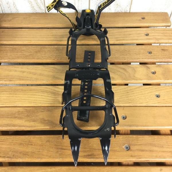 シャルレ モゼール CHARLET MOSER スーパー12 SUPER12 12本爪 ワンタッチ アイゼン クランポン 希少モデル One ブラック|2ndgear-outdoor|02