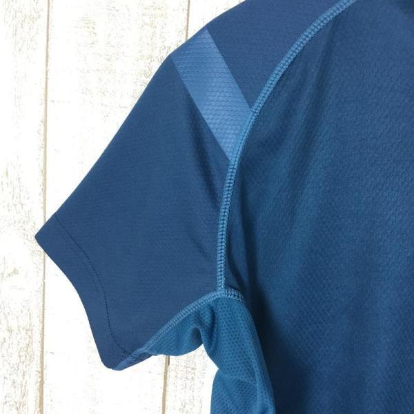 スポルティバ SPORTIVA クイックドライ クルーネック Tシャツ ポリジン永続的防臭加工済み  International MEN's L ブル|2ndgear-outdoor|03