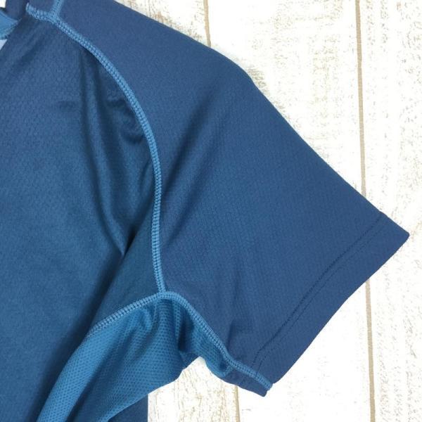スポルティバ SPORTIVA クイックドライ クルーネック Tシャツ ポリジン永続的防臭加工済み  International MEN's L ブル|2ndgear-outdoor|04