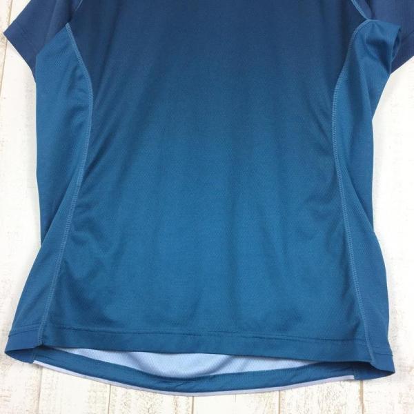スポルティバ SPORTIVA クイックドライ クルーネック Tシャツ ポリジン永続的防臭加工済み  International MEN's L ブル|2ndgear-outdoor|05