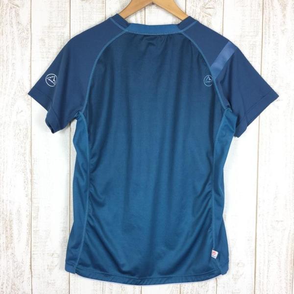 スポルティバ SPORTIVA クイックドライ クルーネック Tシャツ ポリジン永続的防臭加工済み  International MEN's L ブル|2ndgear-outdoor|06