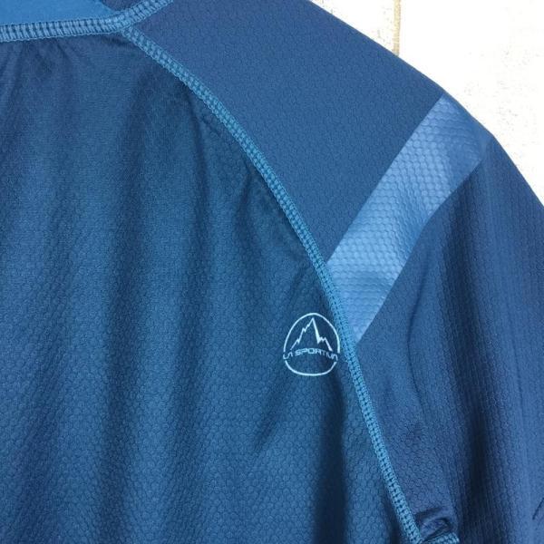 スポルティバ SPORTIVA クイックドライ クルーネック Tシャツ ポリジン永続的防臭加工済み  International MEN's L ブル|2ndgear-outdoor|07