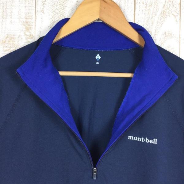 モンベル MONTBELL WIC.ジップシャツ  Asian MEN's XL ネイビー系 2ndgear-outdoor 03