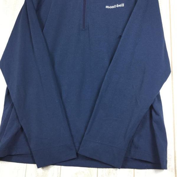 モンベル MONTBELL WIC.ジップシャツ  Asian MEN's XL ネイビー系 2ndgear-outdoor 05