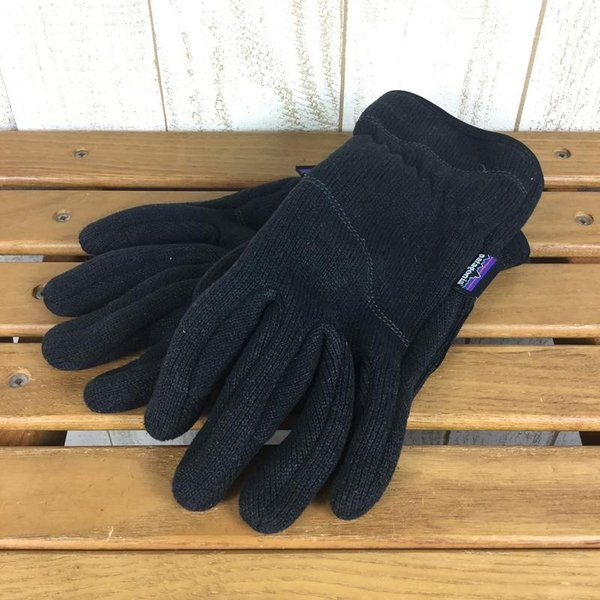 パタゴニア PATAGONIA ベターセーター グローブ Better Sweater Gloves  WOMEN's M BLK BLACK ブラッ|2ndgear-outdoor