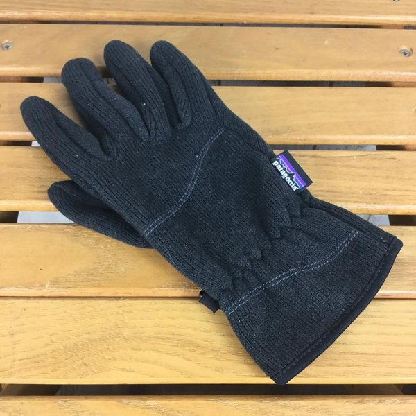 パタゴニア PATAGONIA ベターセーター グローブ Better Sweater Gloves  WOMEN's M BLK BLACK ブラッ|2ndgear-outdoor|02