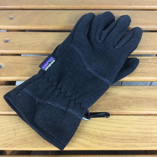 パタゴニア PATAGONIA ベターセーター グローブ Better Sweater Gloves  WOMEN's M BLK BLACK ブラッ|2ndgear-outdoor|05