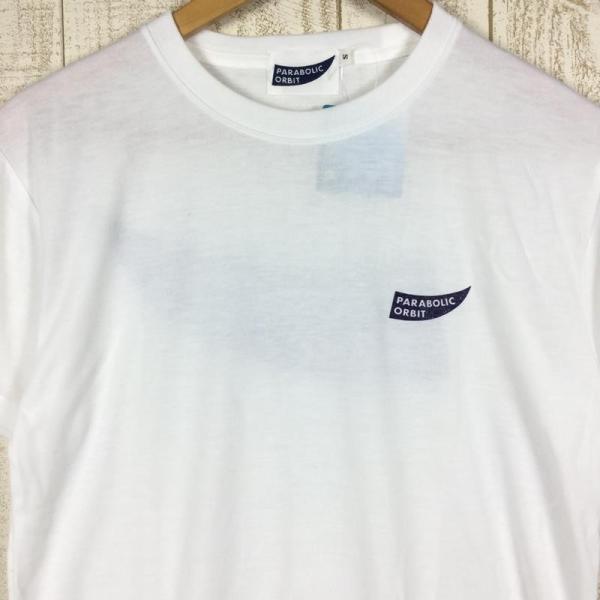 パラボリックオービット ロゴ Tシャツ ドライコットンタッチ  MEN's S ホワイト系 2ndgear-outdoor 02