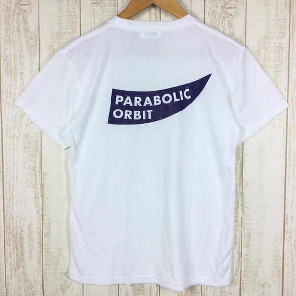 パラボリックオービット ロゴ Tシャツ ドライコットンタッチ  MEN's S ホワイト系 2ndgear-outdoor 03