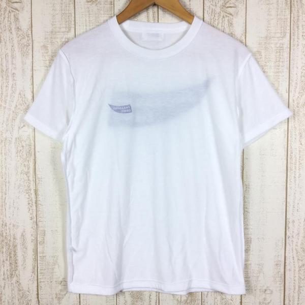 パラボリックオービット ロゴ Tシャツ ドライコットンタッチ  MEN's S ホワイト系 2ndgear-outdoor 04