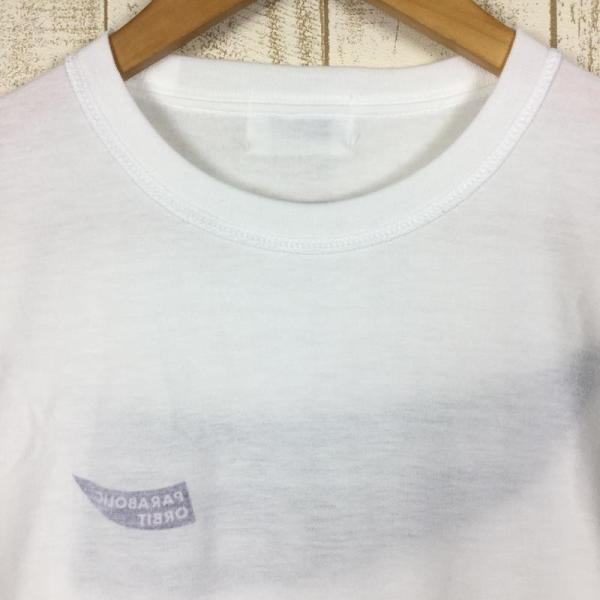 パラボリックオービット ロゴ Tシャツ ドライコットンタッチ  MEN's S ホワイト系 2ndgear-outdoor 05