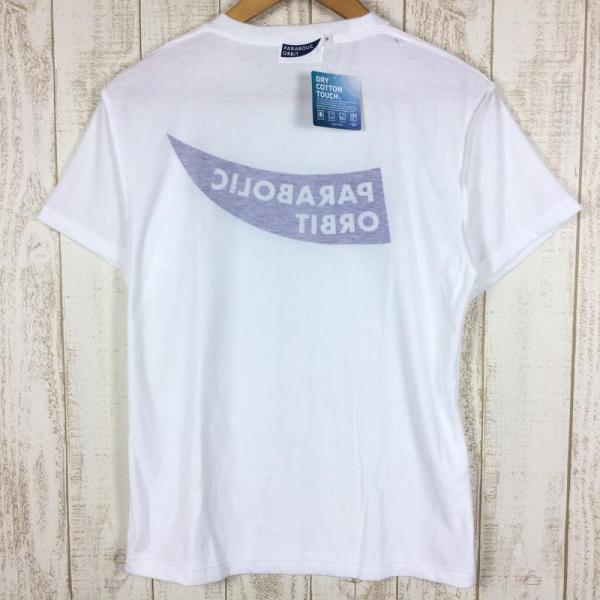 パラボリックオービット ロゴ Tシャツ ドライコットンタッチ  MEN's S ホワイト系 2ndgear-outdoor 06