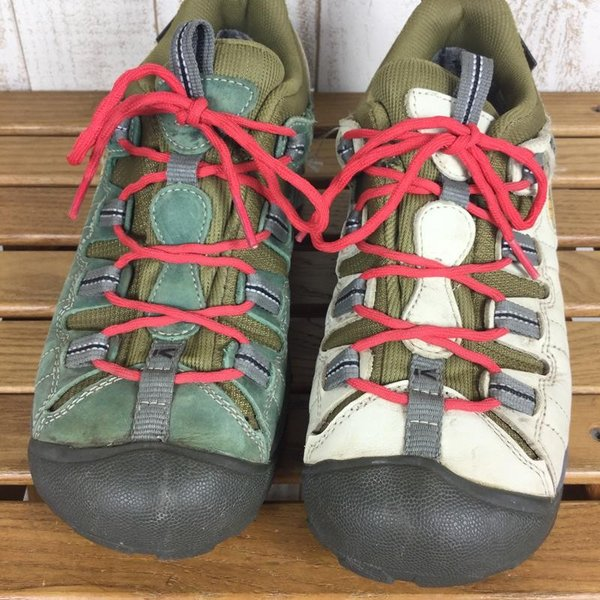 キーン KEEN ターギー2 FUUJIN RAIJIN 風神雷神  WOMEN's US8.5 UK6 EUR39 25.5cm グリーン系|2ndgear-outdoor|06