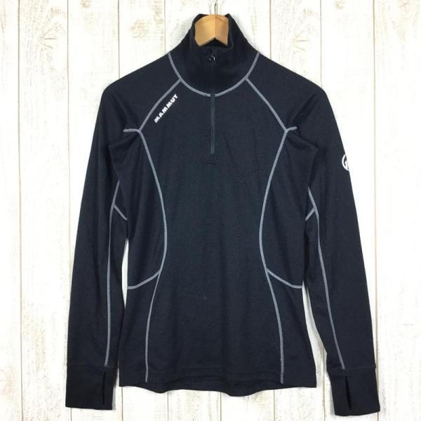 マムート MAMMUT Zip Longsleeve Warm-Quality  International WOMEN's M ブラック系 2ndgear-outdoor