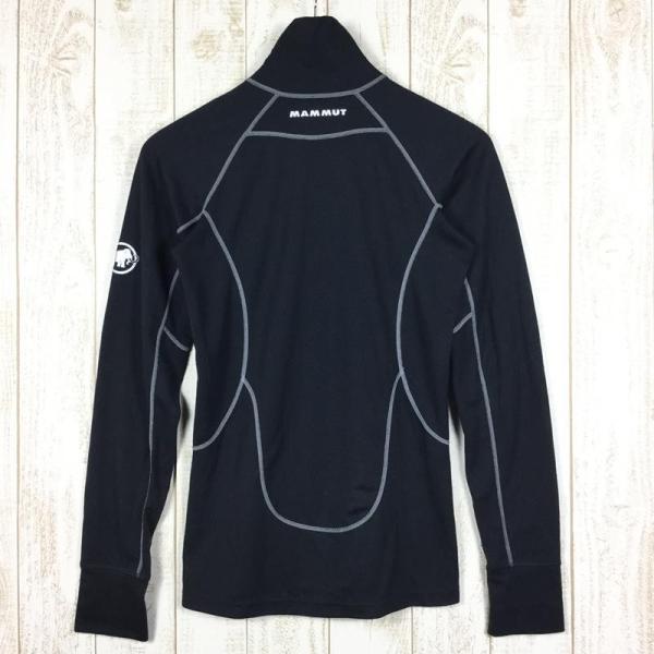 マムート MAMMUT Zip Longsleeve Warm-Quality  International WOMEN's M ブラック系 2ndgear-outdoor 05
