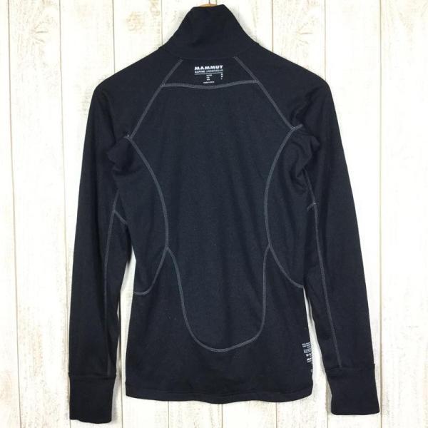 マムート MAMMUT Zip Longsleeve Warm-Quality  International WOMEN's M ブラック系 2ndgear-outdoor 08