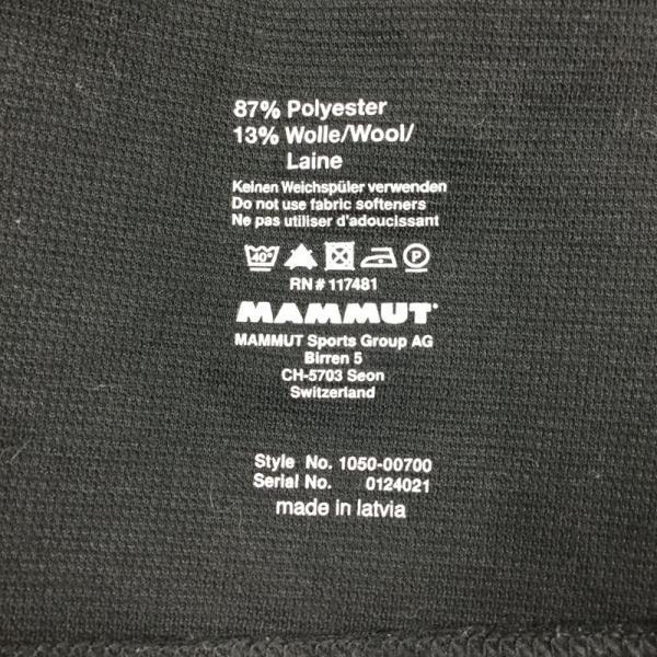 マムート MAMMUT Zip Longsleeve Warm-Quality  International WOMEN's M ブラック系 2ndgear-outdoor 09