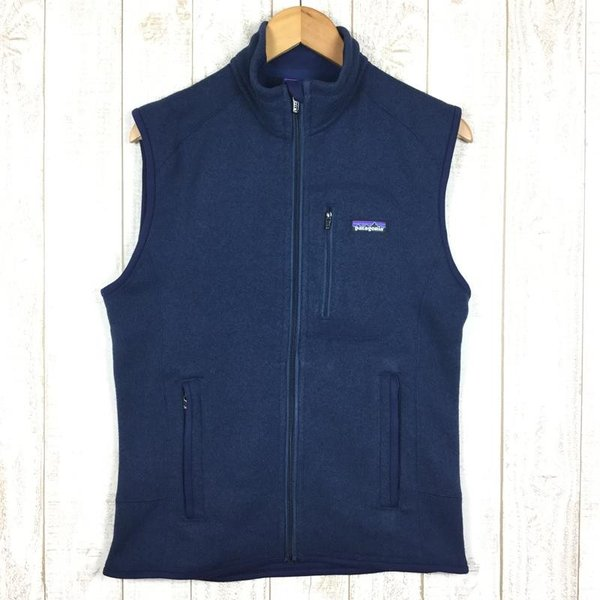 パタゴニア PATAGONIA ベター セーター ベスト Better Sweater Vest  International MEN's S ネイビ|2ndgear-outdoor