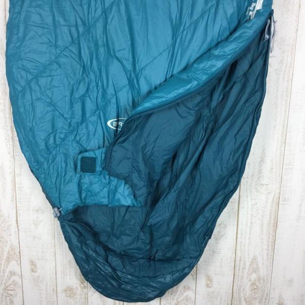 モンベル MONTBELL アルパイン バロウバッグ #3 化繊 インサレーション シュラフ  One BASM バルサム グリーン系|2ndgear-outdoor|05