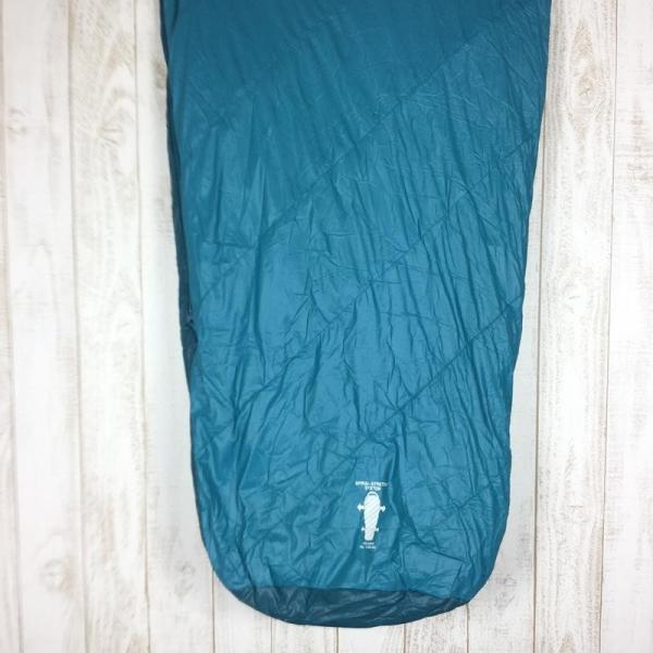 モンベル MONTBELL アルパイン バロウバッグ #3 化繊 インサレーション シュラフ  One BASM バルサム グリーン系|2ndgear-outdoor|07