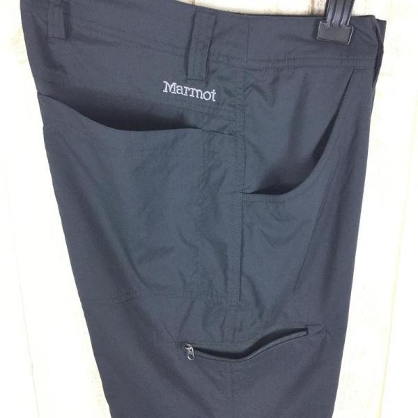 マーモット MARMOT ライトウェイト ストレッチ トレイル パンツ  International MEN's 28 ブラック系|2ndgear-outdoor|07