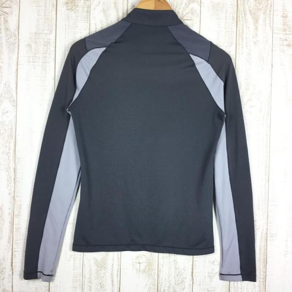 ミレー MILLET ロングスリーブ ミッドウェイト ジップネック シャツ  International MEN's S グレー系|2ndgear-outdoor|08