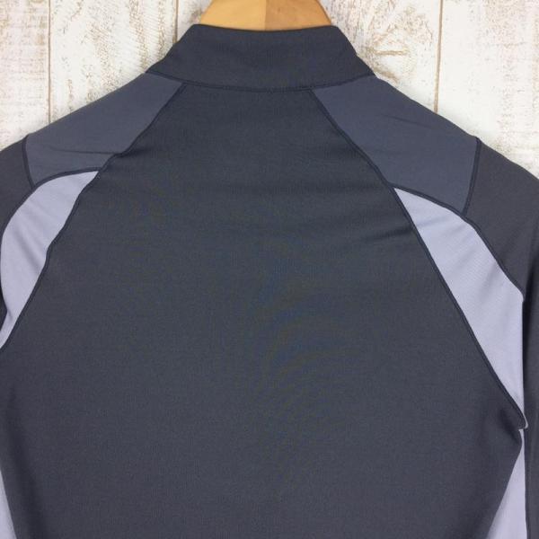 ミレー MILLET ロングスリーブ ミッドウェイト ジップネック シャツ  International MEN's S グレー系|2ndgear-outdoor|09