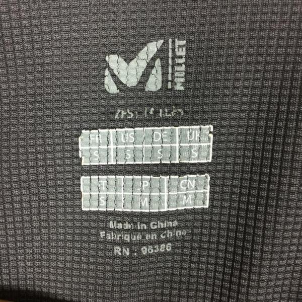 ミレー MILLET ロングスリーブ ミッドウェイト ジップネック シャツ  International MEN's S グレー系|2ndgear-outdoor|10