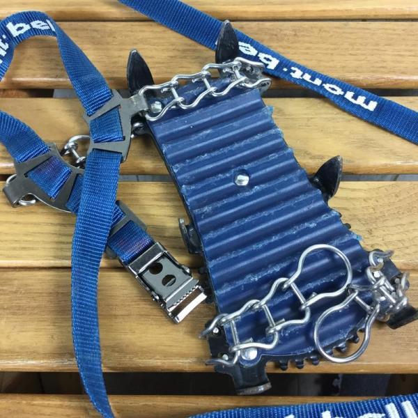 モンベル MONTBELL スノースパイク6 軽アイゼン クランポン  One ブルー系 2ndgear-outdoor 07