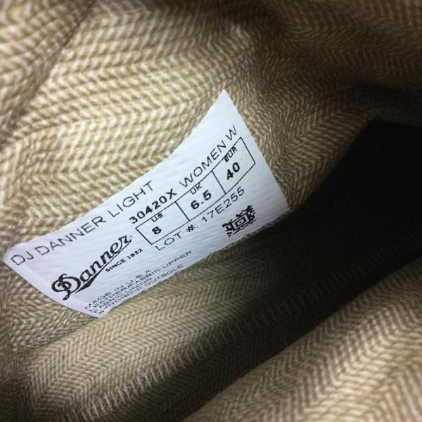 ダナー DANNER ダナー ライト DANNER LIGHT ゴアテックス  WOMEN's US8 UK6.5 EUR40 25.0cm ブラウン|2ndgear-outdoor|03