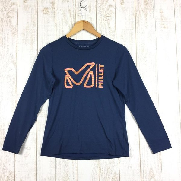 ミレー MILLET LD Mトリム Tシャツ ロングスリーブ LD M-TRIM TS LS  International WOMEN's S ネイ|2ndgear-outdoor