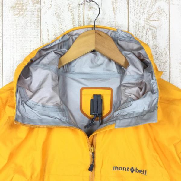 モンベル レインダンサー ジャケット ゴアテックス MONTBELL 1128340 Asian MEN's M イエロー系|2ndgear-outdoor|03