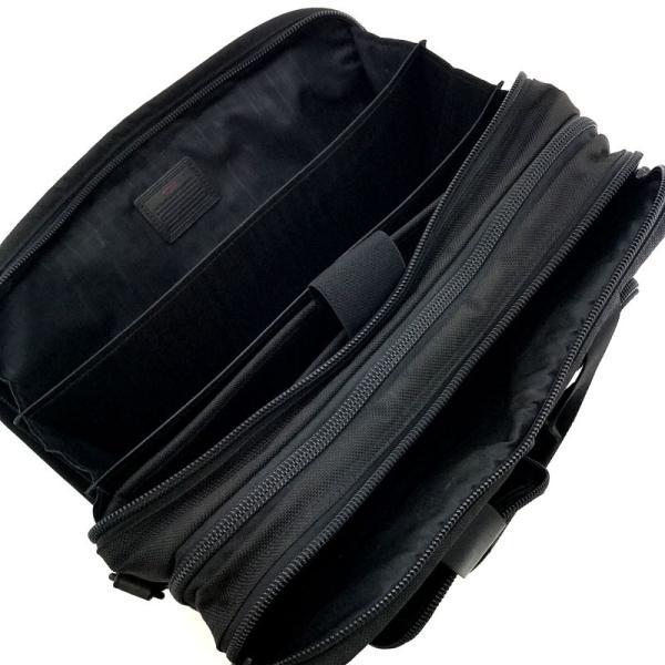 トゥミ バッグ TUMI ビジネスバッグ ブリーフケース アルファ ALPHA エクスパンダブル オーガナイザー ナイロン ブラック 26141DH|2ndhands|04