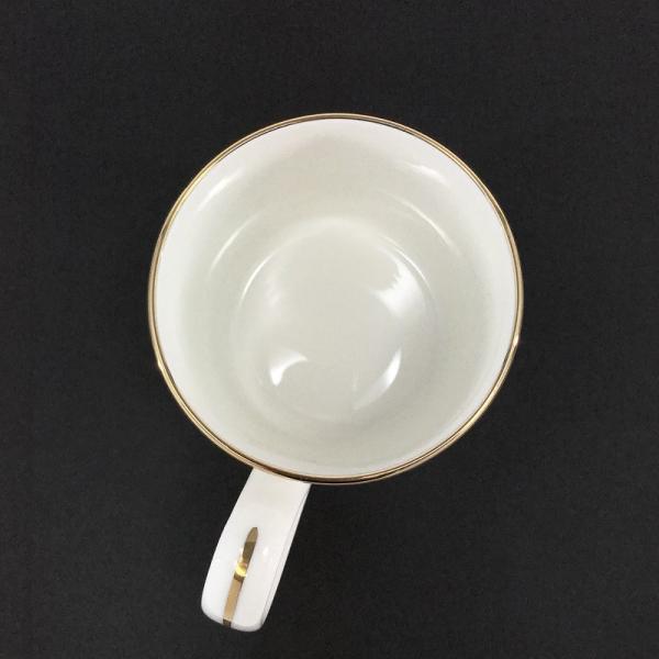 ティファニー Tiffany&Co. マグカップ ゴールドバンド ペア 2個セット 白 ホワイト ゴールド 2ndhands 03