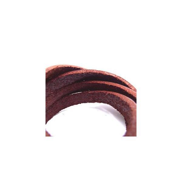 メール便なら送料無料  レザーブレスレット メンズ・レディース スタッズ 皮・革 5連・5重巻き ヴィンテージ風 gobr0014 腕周り約15〜17cm(5連)|2pcs|04