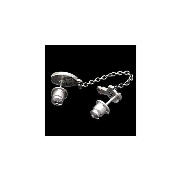 メール便なら送料無料  ピアス メンズ シルバーピアス メンズピアス マリア・メダイ クロス・十字架 pi0405 バラ売り|2pcs|05