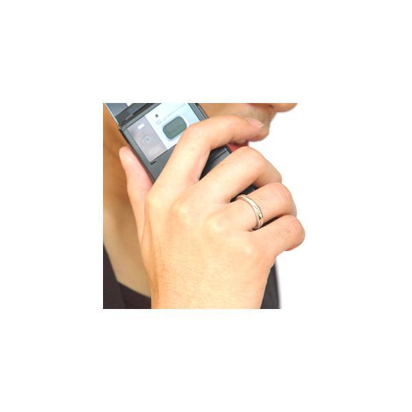 送料無料  シルバーアクセサリー ペアリング[単品] リング・指輪 ブルーダイヤモンド メビウス・永遠 r0521 2pcs 02
