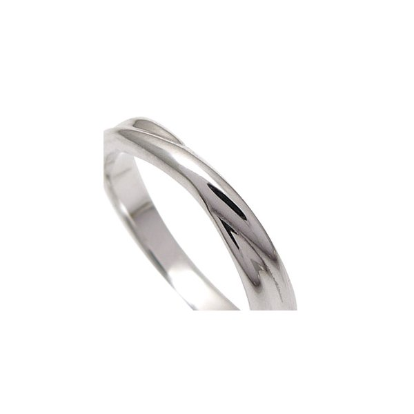 送料無料  シルバーアクセサリー ペアリング[単品] リング・指輪 ブルーダイヤモンド メビウス・永遠 r0521 2pcs 05